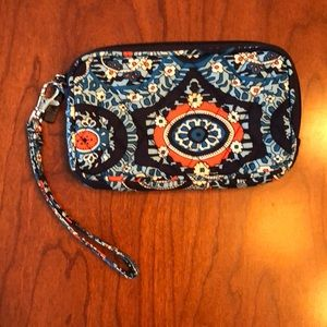 Vera Bradley Hand Small Purse Coin Bag Wristlet